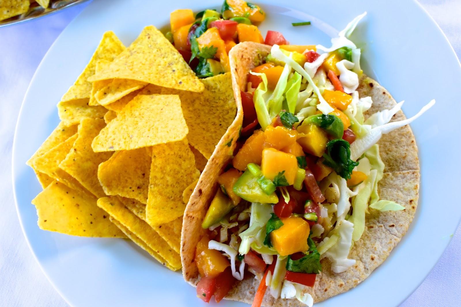 Tilapia Tacos with Fresh Peach Salsa - My Own Meal Plan