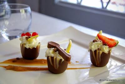 Le dessert du chef