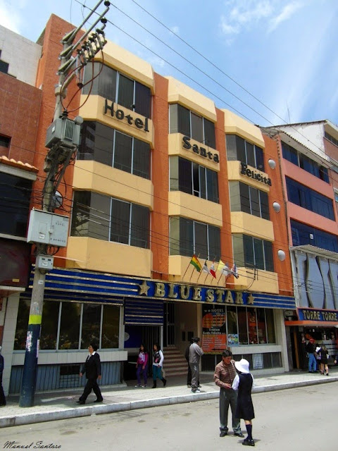 Huancayo. Hotel Santa Felicita