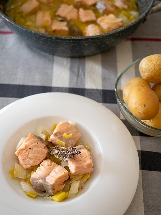receta de cómo hacer salmon en escabeche