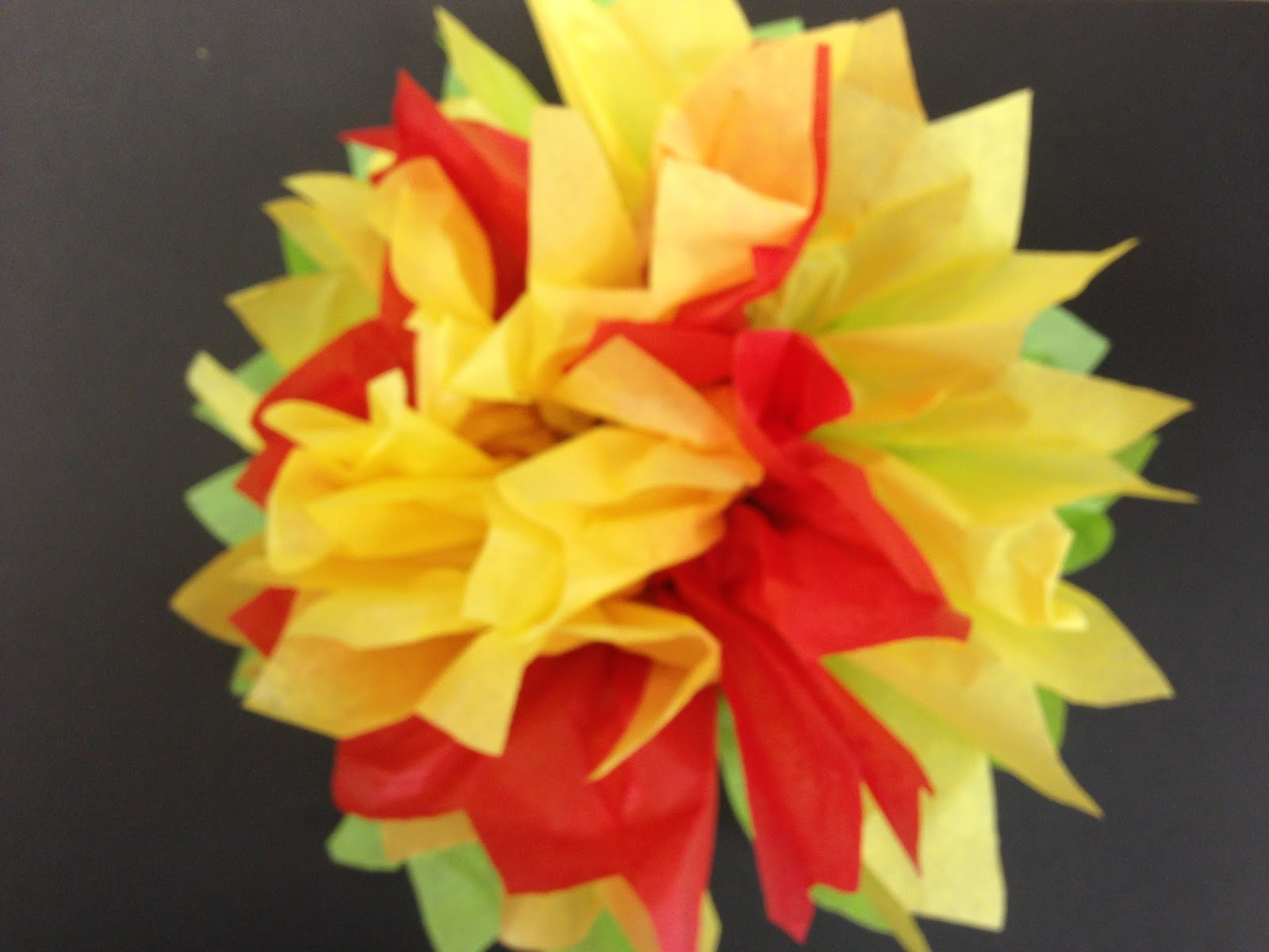 Kristen Applebee Cinco De Mayo Tissue Paper Flowers