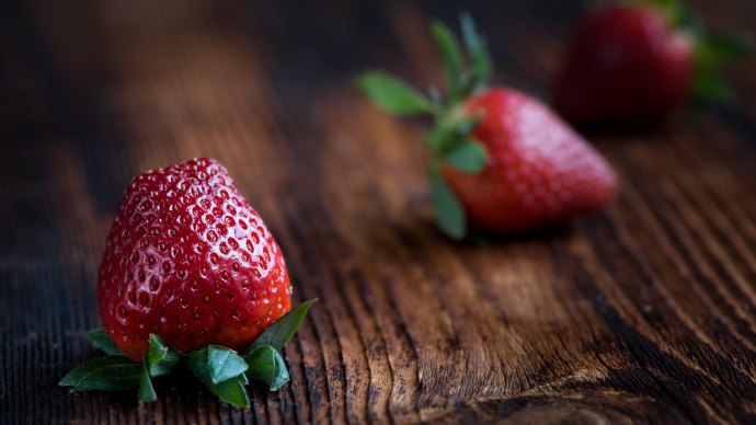 Wallpaper: Strawberries 2016