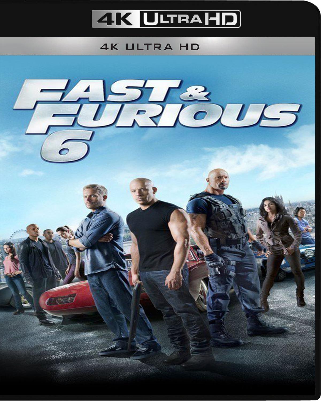 Fast & Furious 6 [2013] [UHD] [2160p] [Latino – Castellano]