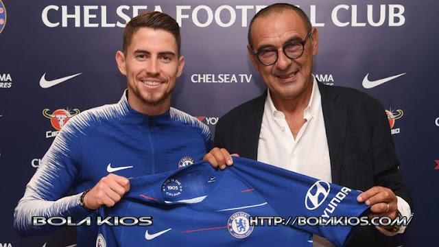 Jorginho Resmi Pindah Ke Chelsea