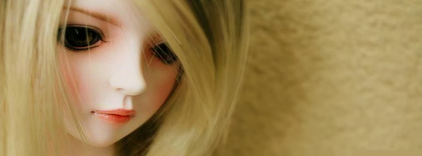 Cute Dolls HD Facebook Timeline Covers Alone Doll