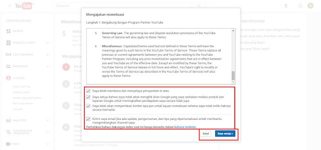 Cara Mendaftar Akun Adsense Lewat Akun Youtube 2017 Dengan Mudah