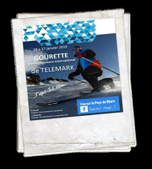 Rassemblement international de Telemark Gourette Pyrénées 2019