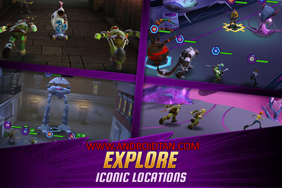 Free Download Ninja Turtles Legends Mod Apk v1.7.15 Unlimited Money Terbaru 2017 Gratis