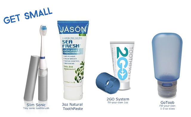 small travel toothcare