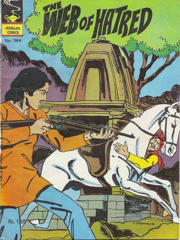 Indrajal Comics-364-Bahadur: The Web Of Hatred (1980)