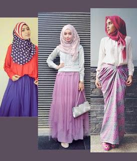 Info Tips dan Model Rok Panjang Bagi Wanita Gemuk dan Pendek