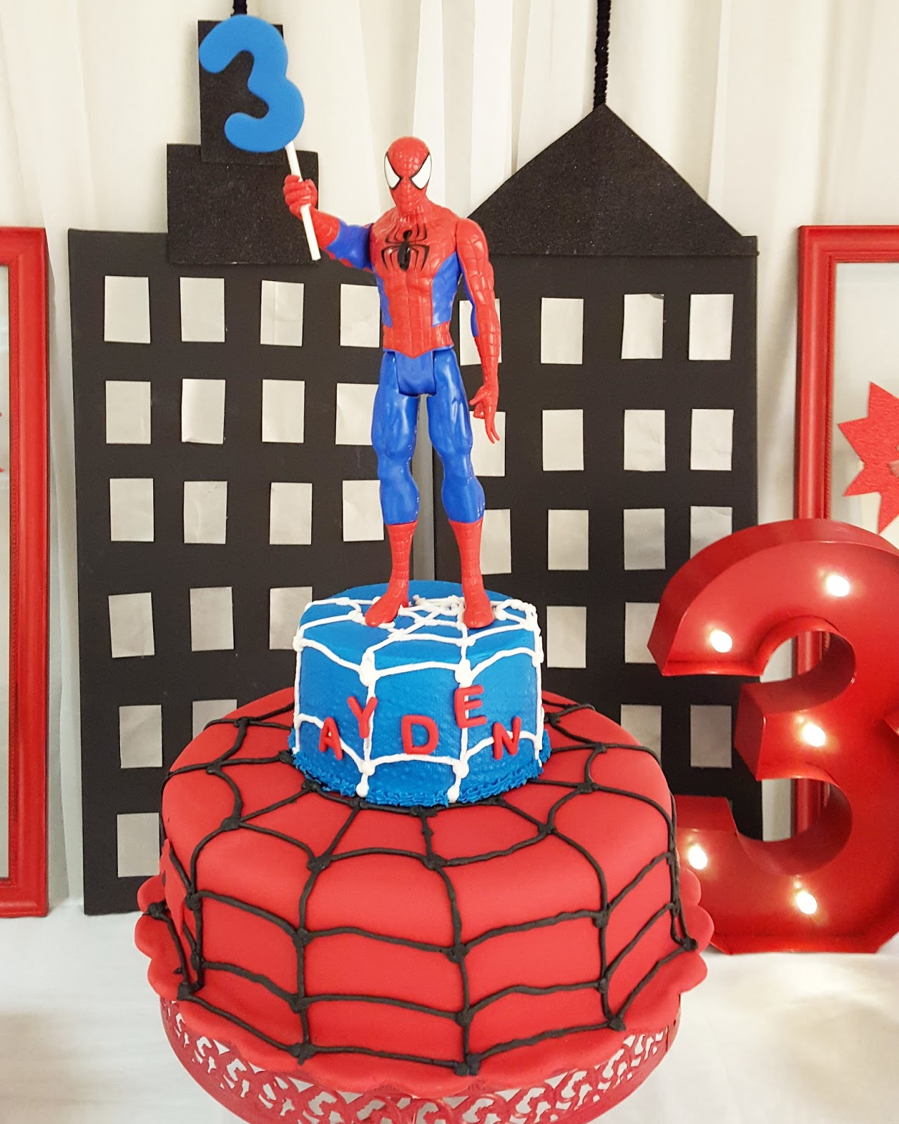 PRETTY TWINKLE PARTY Spiderman Birthday Party