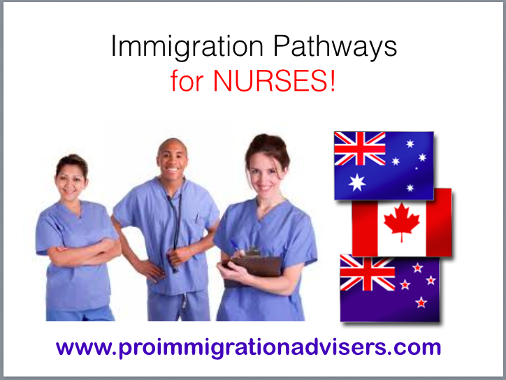 Immigration Pathways for Nurses - Canadian Immigration Consultancy