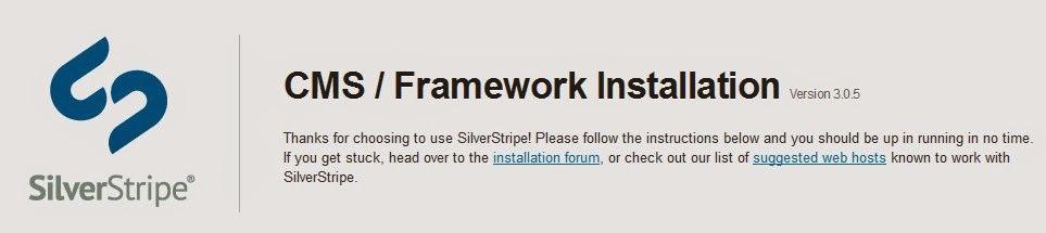Cara Daftar CMS SilverStripe
