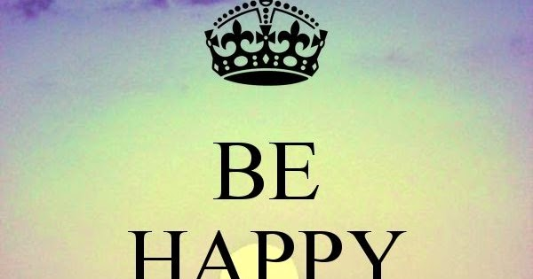 Keep Calm And Sparkle On With Sharon Taphorn: Be Happy And