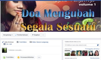 Grup Facebook Download Lagu Rohani Terbaru dari Admin