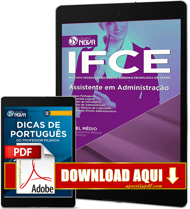 Apostila IFCE 2016 PDF Download Assistente em Administração