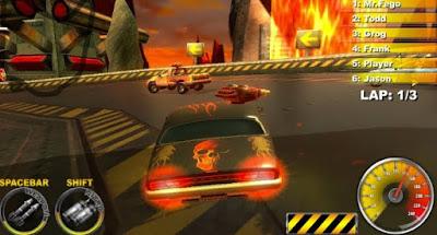 تنزيل Lethal Brutal Racing game