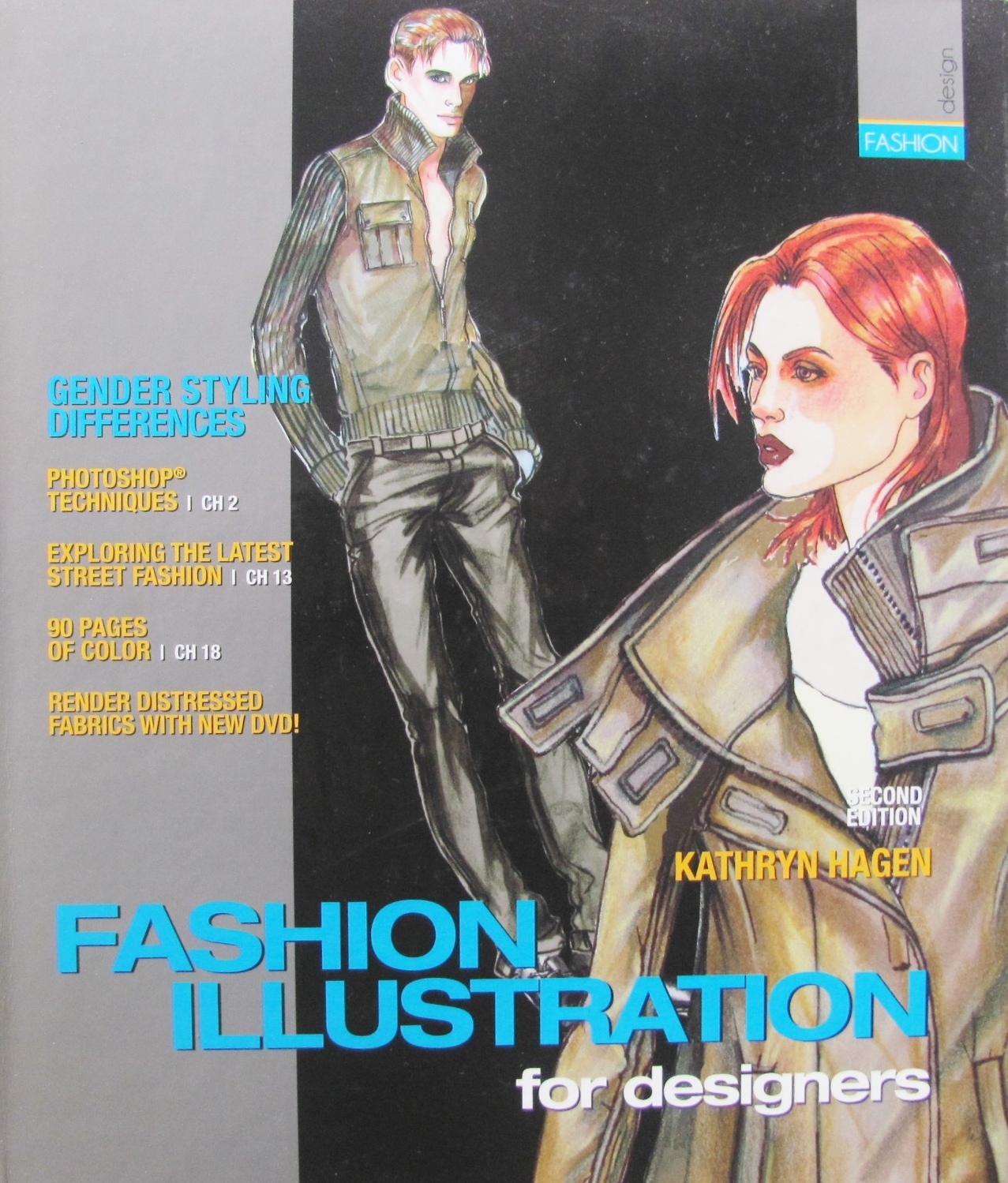 Pintucks Book Review Fashion Illustration For Designers By Katheryn Hagen