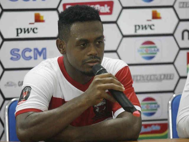 Menang 1-0 atas Borneo FC, David Laly Gembira Bergabung dengan Madura United