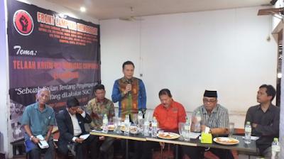 "Dialog Publik FLM: ""Telaah Kritis Kolonialisasi Corporate di Lampung, Sebuah Kajian Tentang Penyimpangan HGU yang Dilakukan oleh SGC"""