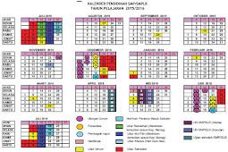 Kalender Pendidikan 2015/2016 DIY
