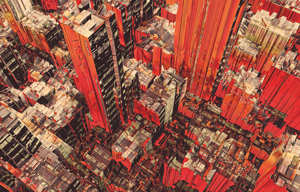 Doctor Ojiplático. Atelier Olschinsky. Cities I