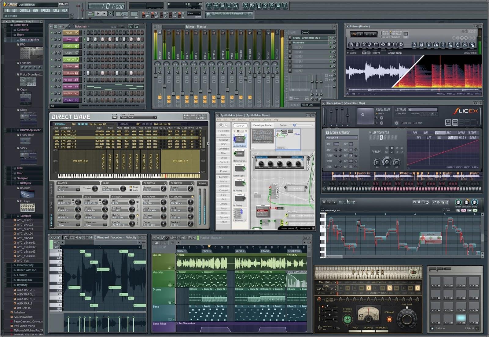 fl studio producer edition 20.0.1 build 455