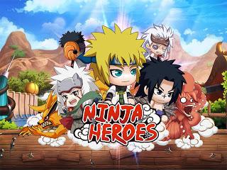 Download Ninja Heroes Apk v1.1.0( Mega MOD+GOLD )