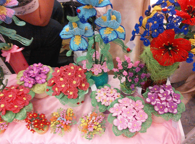 """выставка """"формула рукоделия""""- Самара - цветы из бисера"""