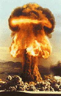 قنابل ذرية نووية هيدروجينية