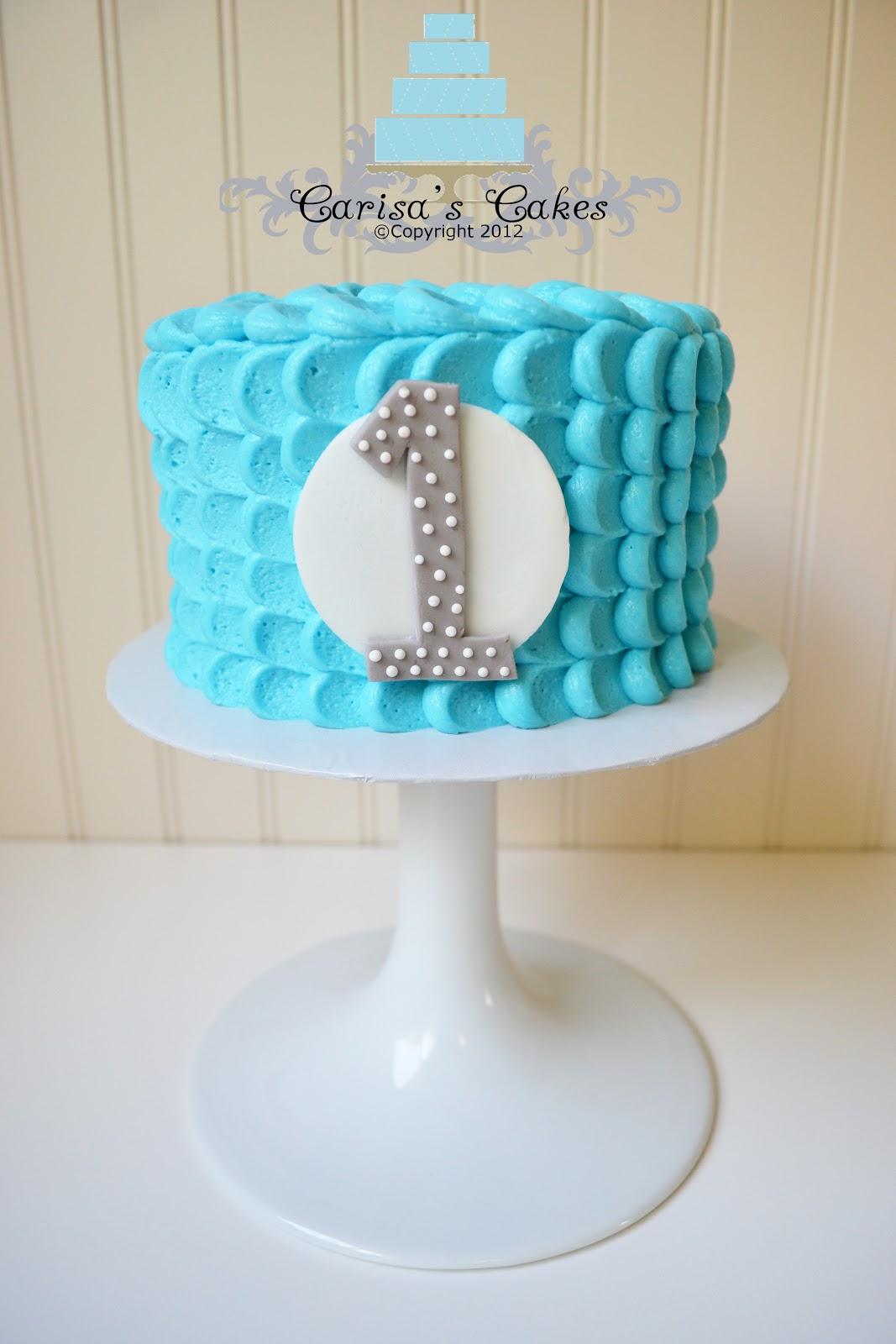 Carisa S Cakes Boy Smash Cake