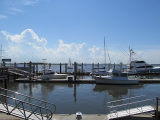 Harbor during the day at Amelia Island