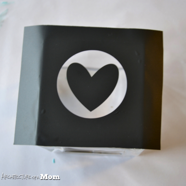 Silhouette Cameo, gilded, gilded etched glass, permanent, Silhouette tutorial