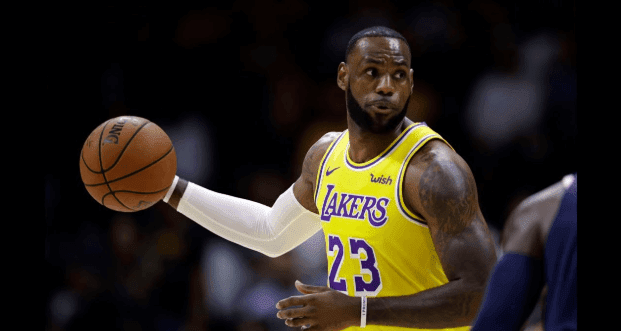 LeBron James gets first win as Lakers beat Sacramento Kings