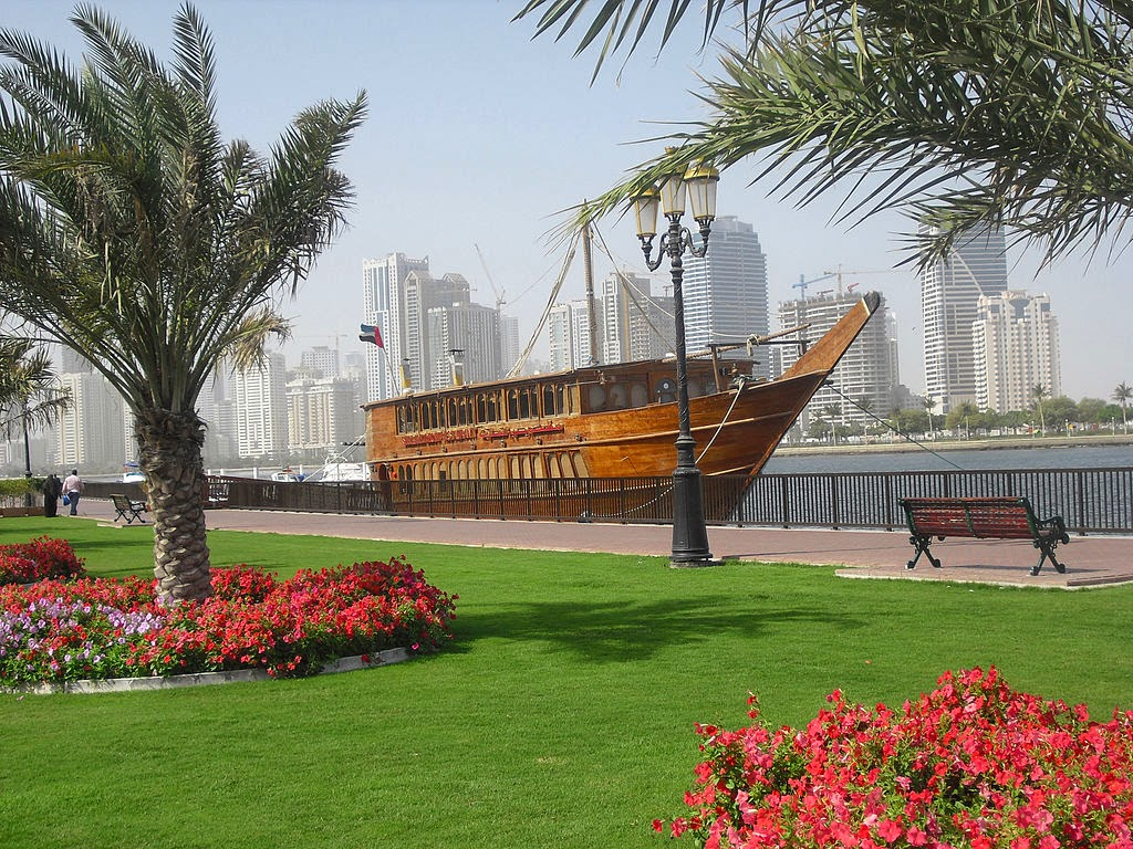 Sharjah Corniche, UAE