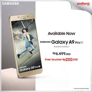 Promo Samsung Galaxy A9 Pro (2016) di Erafone