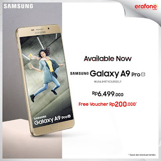 Harga dan Promo Samsung Galaxy A9 Pro
