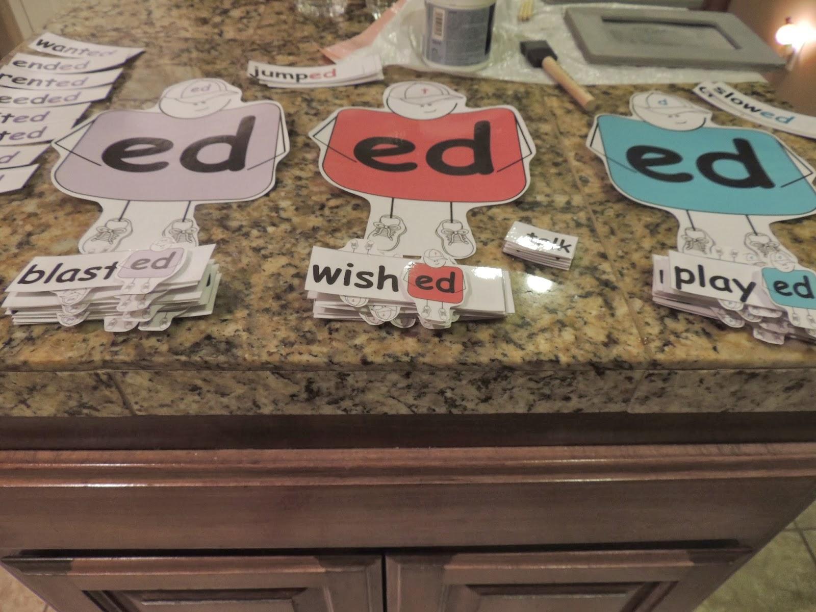 The Way I Teach Suffix Ed