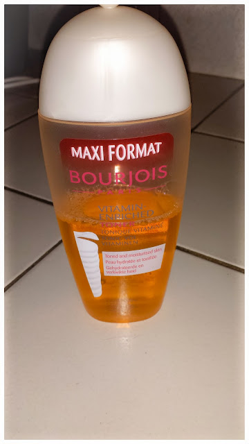 lotion tonique bourjois