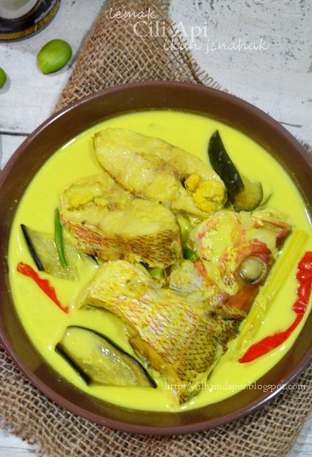 Ilham Dapur Masak Lemak Cili Padi Ikan Jenahak