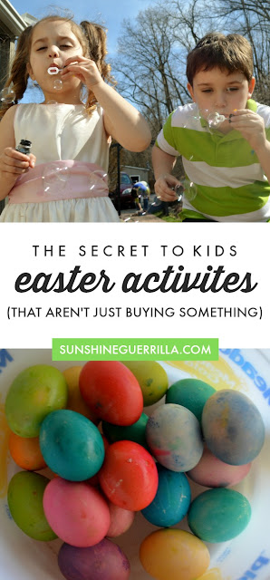 Easter Activities and Traditions to Do With your Kids (That Aren't Just Buying Something) Eco-Friendly Easter