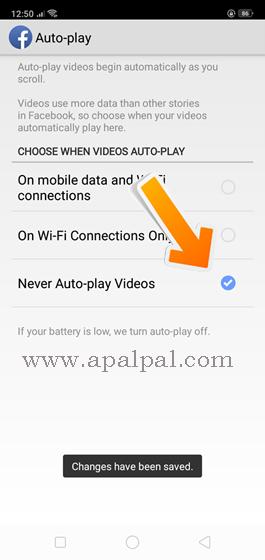 Cara Terbaru Setting Video di Facebook Android Agar Tidak Play Sendiri
