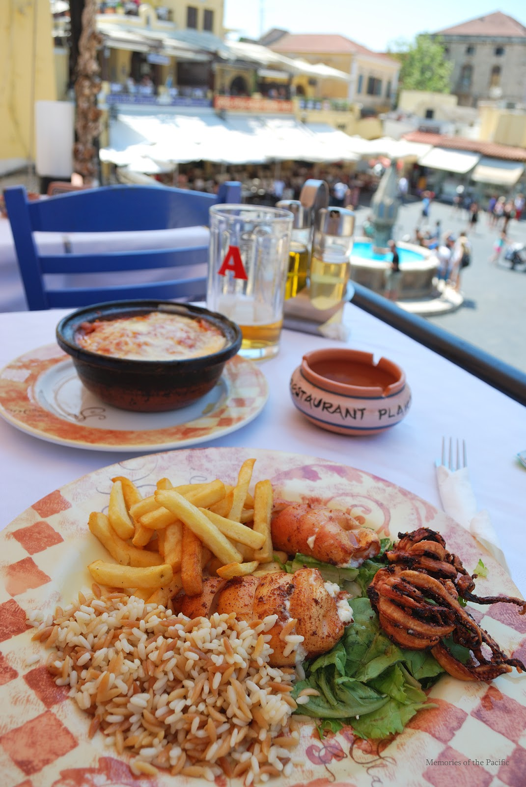 rhodes greek food