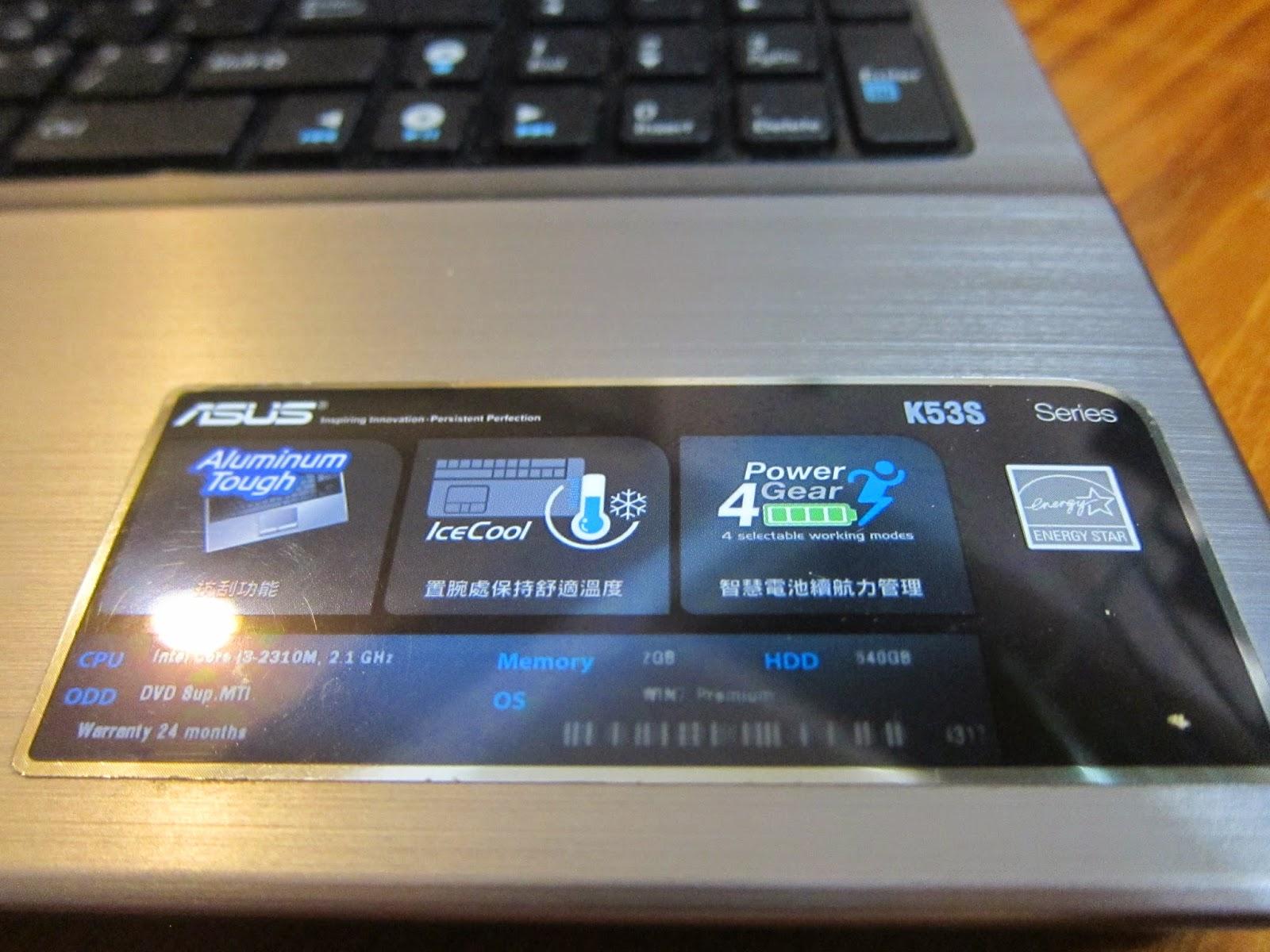 IMG 2341 - [開箱] ASUS K53SJ 15.6吋的耐用效能機