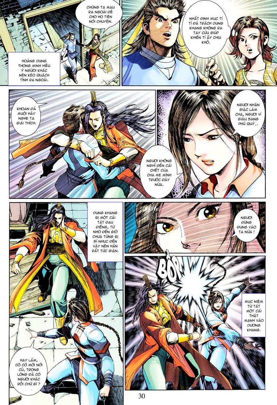 Anh Hùng Xạ Điêu anh hùng xạ đêu chap 38 trang 29