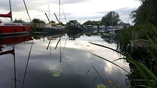 Heybridge Basin on the Chelmer and Blackwater Canal