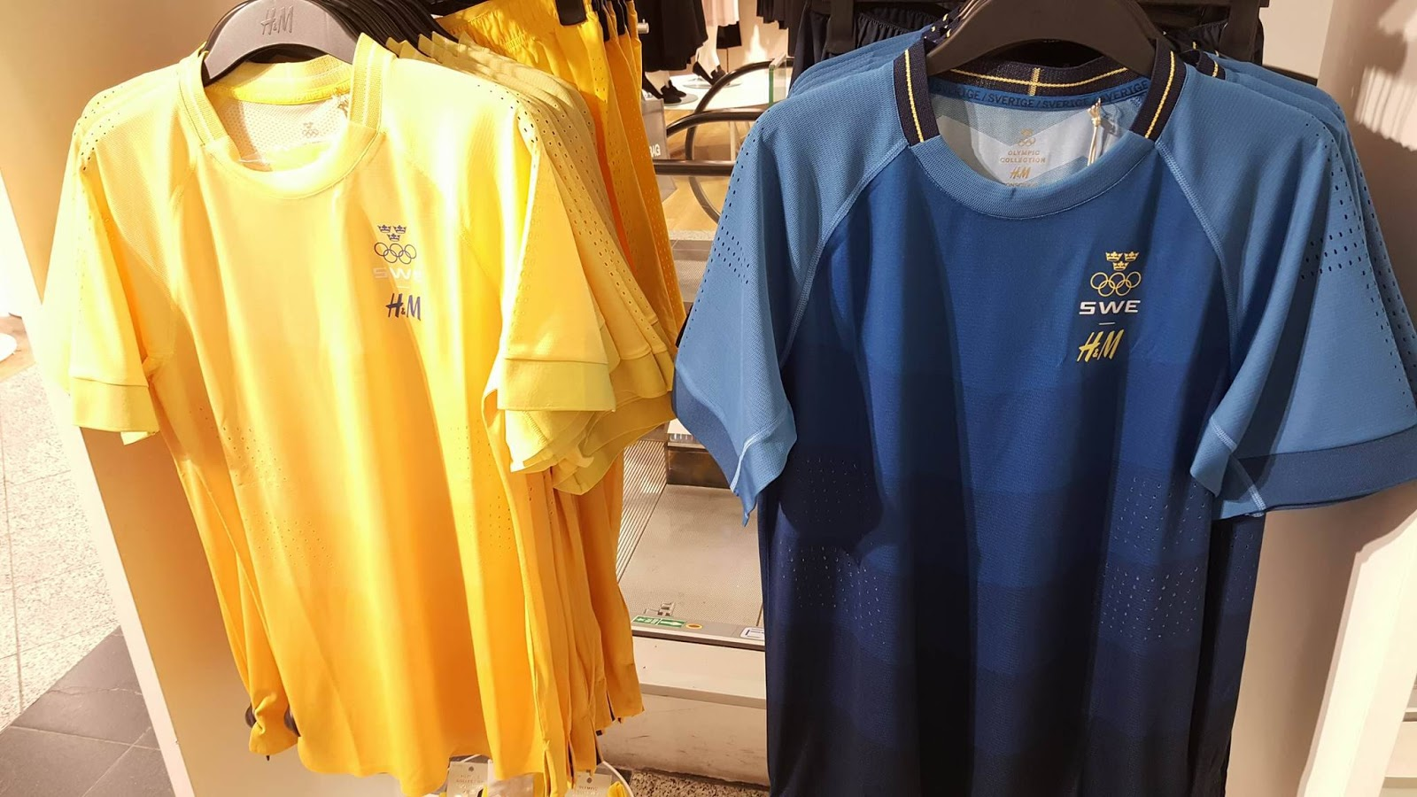 Sweden Olympic Football Jersey