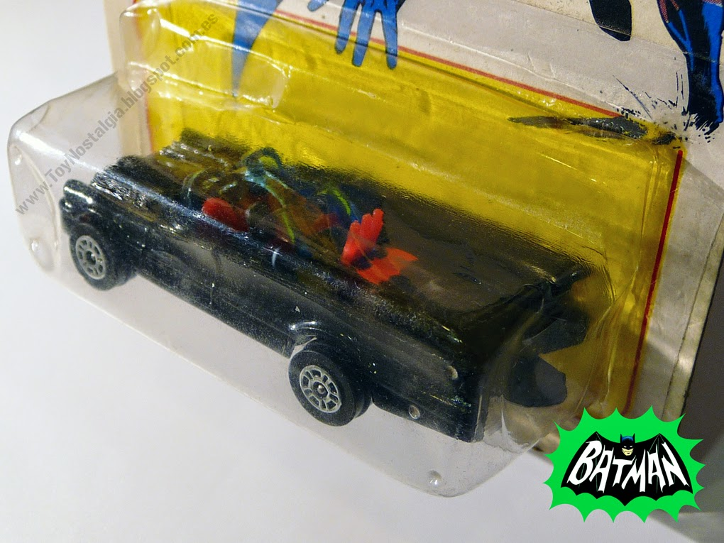 Corgi Batman Batmobile 1966 TV Show 1:64 -Blister (1978) Batimovil Batmovil