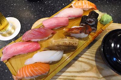 Kuro Maguro, sushi matsutake